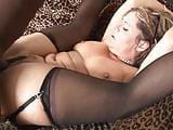 stocking slut gets big black cock