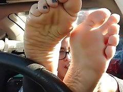 Instagram stoner chick feet