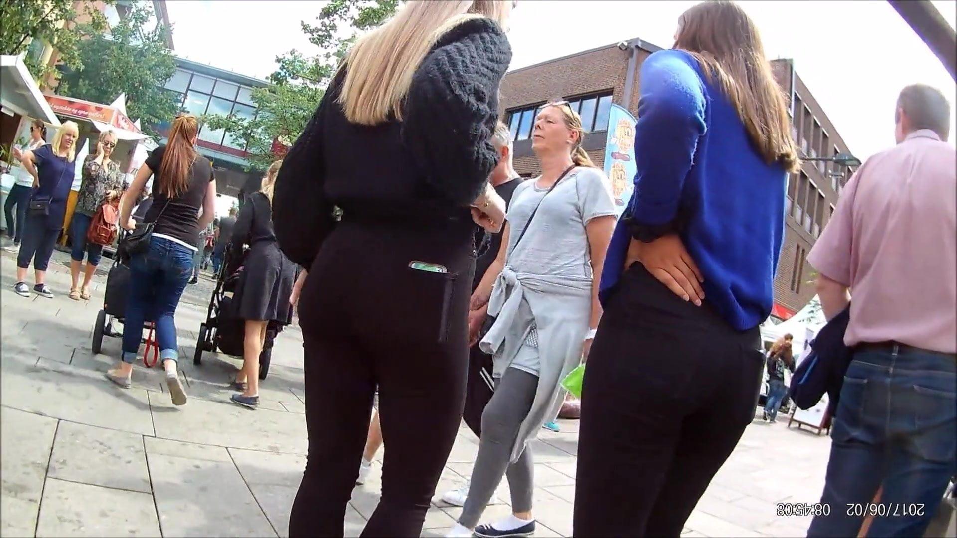 Norwegian girlfriends cute asses!