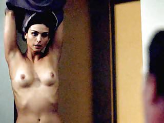 Morena Baccarin Nude Tits & Making Out On ScandalPlanetCom