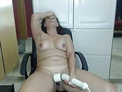Heiße Mutter bei der Webshow 14