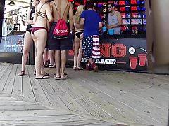 Interazione con Cop mentre si registra Nice Teen Ass