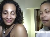 two sexy lightskinned yella bone freaks gone wild