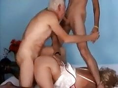 carl - vecchio uomo giovane e donna bi mmf