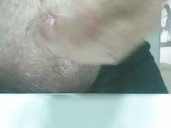 Penectomy mit pee Dildo