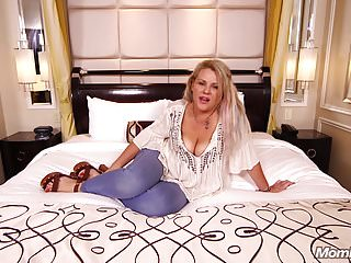 .Amateur Cougar Slut Fucked Hard Anal POV.