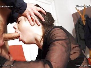 Italian Blowjob Facial video: Giorgia Roma - Bad Off Bitch Deepthroat Face Fuck Abusing