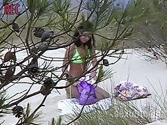 Am FKK Strand Mesquida  auf Mallorca
