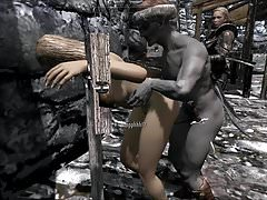 Skyrim Villainess Elenwen pieprzona bita pt1