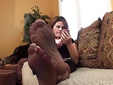 Attractive Mature Nylon Ft