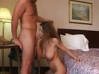 Nice & Soft BlowJob & TitsJob for this Busty Teen