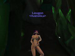 Noční elf Bimbo tančí v Argusu
