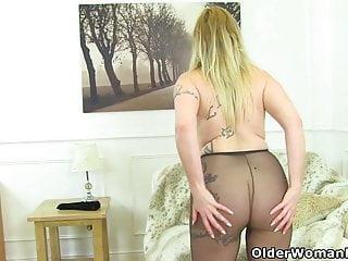 Striptease Milf Mature video: An older woman means fun part 182