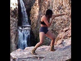 Spandex Rough Sex Cat Fights video: Tough Latina Brute Sasha Ivy