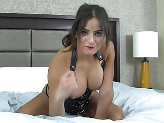 Femdom Cumshot Cum In Mouth video: I will give you instructions on how to eat your cum CEI