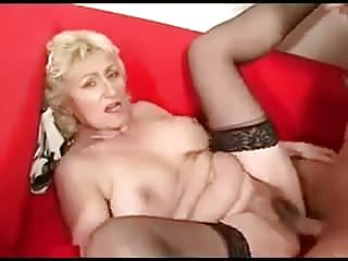 Oldyoung Grannies Mom video: Grandma.    Juicy cunt
