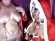 Mistress Christmas and her sub slut Katrina pt 3