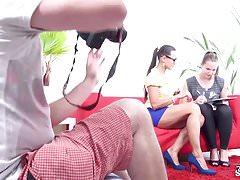FakeShooting - Mea Melone porta un'adolescente carina per un casting finto