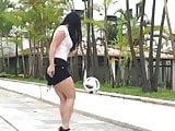 High Heels und Fussball