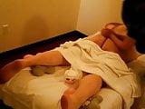 Caught! Massage hidden cam