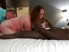 Frau und BBC-Liebhaber