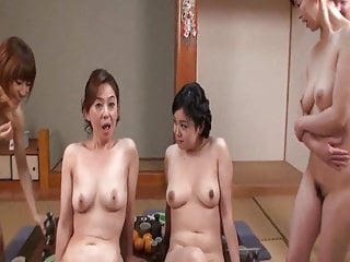 Group Sex Japanese Lady video: New Year lady orgy p-2.wmv