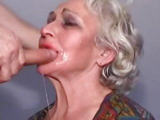 Blowjob Mature Granny video: Granny Norma in Distress