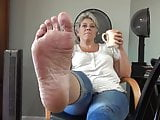 Ticklish Mature Feet