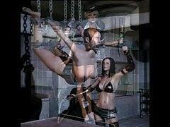 Donne 3d aggressive e sexy in scene viziose di Eroginous