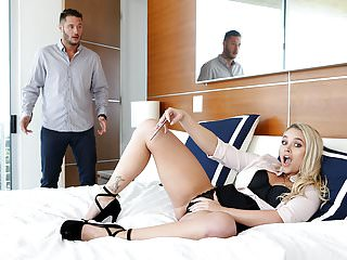 Fucking Awesome - Alexis Monroe gets caught masturbating