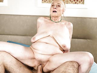 Bbw Grannies European video: She still knows how to take care of a young guy!