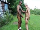 white grandpa black cock