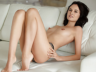 Small Tits Brunette xxx: Sade Mare in By Candlelight - PlayboyPlus