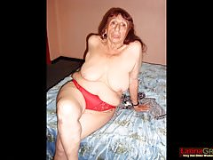 Slideshow LatinaGrannY con compilation Grandmoms