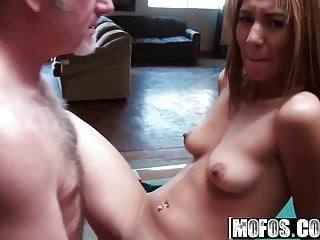 Cumshots Amateur Handjobs video: Serena - Young Tart Fucks an Old Fart - Mofos B Sides