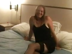 Sexy manželka Fucked Two Black Man