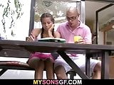Young bitch cheating with father in law