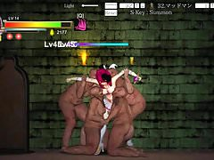 Hentai Game Guilty Hell - Fat Female Zombies