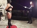 Whipped Tits by Dressage Whip