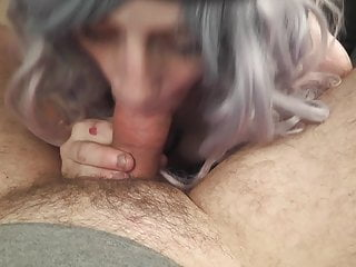 British Small Tits Blowjob video: Awesome Blow Job from Junkie Whore in Car