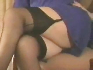 Stockings Homemade video: British wife fingers in stockings and garter belt 1