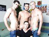 Gay twink orgy