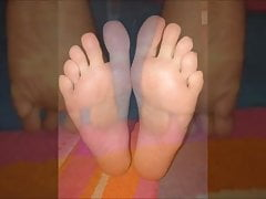 Maria bouge sa sexy (taille 39) pieds, partie 3