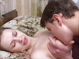 Milfs Russian Mom video: Seducing stepson