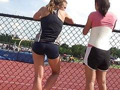 Teen Track Spandex Shorts 1