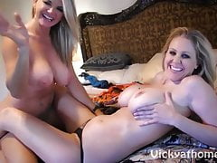 Vicky Vette & Julia Ann's First Time?!