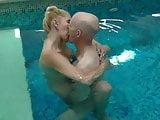 inside pool again