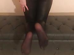 Smrtelné punčochové nohy po práci