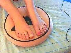Preparando i miei piedi per te!
