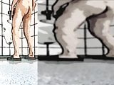 0252 boy ass naked for everyone public Toilet cartoon 7c8a1